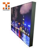Textil bastidor de aluminio tejido de la caja de Iluminación LED con retroiluminación LED pantalla de publicidad sin cerco Caja de luz