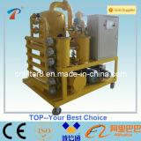 誘電性オイル変圧器オイルのガス抜き処理の脱水および再生機械(ZYD-50)