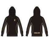 Black sublima Pullover Hoodie con logotipo personalizado