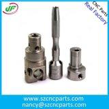 Präzisionskundenspezifische CNC-Teile Edelstahl / Messing / Kupfer / Aluminium-Teile