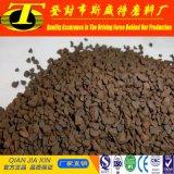 Arena verde del óxido de la arena 25-45%/manganeso del manganeso para el tratamiento de aguas