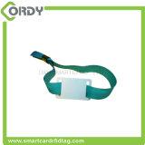 RFID ein Gewebearmband des Zeit Wegwerf-Identifikationwristband Kennzeichens NFC