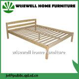 침실 (WJZ-B78)를 위한 단순한 설계 단단한 단 하나 목제 침대