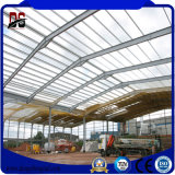 Estructura de acero del taller del bajo costo del almacén de la luz prefabricada del edificio para la venta