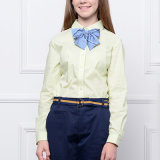 Vente en gros Custom Latest New Cotton School Uniform Check Shirts