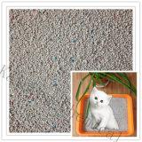 L'agglutination de la bentonite la litière pour chat