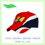 Chapeau spécial de sport de base-ball de sergé de coton de broderie