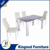 색칠 유리제 테이블, 그림 풀 식당 테이블, 테이블
