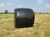 750mm*1500m*20umによって吹かれる黒いサイレージの覆いのプロフィルム