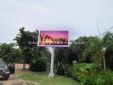 Uso esterno LED antiruggine dell'isola che fa pubblicità alla visualizzazione