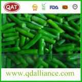 Feijões verdes inteiros congelados com FDA, Certificado Brc