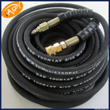 SAE 100r1 Steel Wire Reinforced/Braid Rubber Covered Hydraulic Rubber Hose