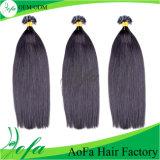 Волосы бразильянина девственницы количества минимального заказа оптовой продажи фабрики Aofa