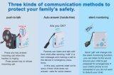 子供および年配GSMのモニタSosの電話のための小型GPSの追跡者の腕時計