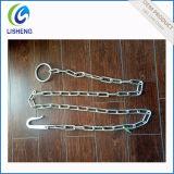Chaîne en acier galvanisé à anneau et fourchettes