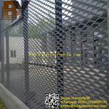 Fachada del edificio de acero de malla metálica expandida del acoplamiento de alambre