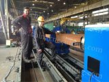자동 물자 공급 롤러 벤치 큰 직경 CNC 플라스마 절단 기계장치