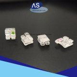 Parentesi dentali del prodotto delle parentesi di ceramica ortodontiche dello zaffiro
