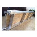 De de Houten Plank/Raad van het Aluminium van de steiger voor Steiger