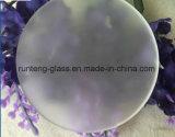 5mm малое круглое травленое стекло Tempered стекла Polished стеклянное кисловочное