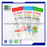 Back Seal Clear Plastic HDPE LDPE Embalagem Sacos