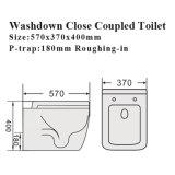 Watermark Cuarto de baño Cuarto de baño de agua Sanitary Ware Ceramic Toilet