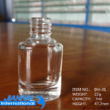 De hete Verkopende Kosmetische Fles van de Fles van het Nagellak van het Glas