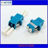 Adaptadores duplex de fibra óptica com conectores LC com tampa de pó especial