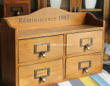 SGS Audited Supplier Caja de joyería de madera pintada de alta calidad