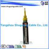 Smoke/PVC inférieur a isolé/câble de commande échoué/par Screened/PVC engainé