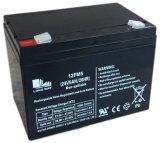 bateria de armazenamento carregável do gel 12FM5 para Systm de seguimento solar