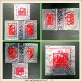 Изготовленный на заказ мешок седловины гастронома уплотнения сжатия LDPE для супермаркета