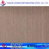 Color Hariline 304 Placa de acero inoxidable con PVC en acero inoxidable