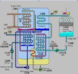 Refroidisseur d'absorption d'eau chaude
