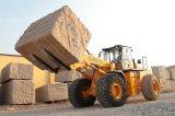 Heißer Verkaufs-Dieselgabelstapler für Katze-Blockbehandlungsprogramm-Geräten-Rad-Ladevorrichtung