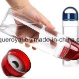 Frucht-Wasser-Flasche mit Kippen-Tülle, Infuser und Filter