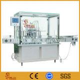 Máquina de rellenar del llenador líquido automático de la botella del pistón