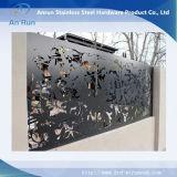 De vuurvaste Waterdichte Binnenlandse die Gordijngevel van het Aluminium Van Geperforeerd Blad wordt gemaakt