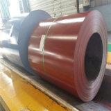 La bobina d'acciaio galvanizzata PPGI-Preverniciata, colora la bobina d'acciaio rivestita di PPGI