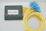 PLC Splitter van FTTH Gpon Fiber Optical 1xn Sc Connector