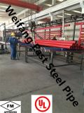Tubo d'acciaio orientale ASTM A795 Sch10 di Weifang con i certificati di UL/FM