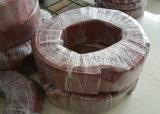Tubo del silicone del grande diametro, tubo del silicone, tubo flessibile del silicone, Special del manicotto del silicone per il rullo della corona fatto con il silicone resistente dell'alta rottura dalla Germania Wacker