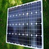 ホームパワー系統のためのよい価格のモノラル太陽電池パネル100W