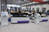Tipo máquina da tabela de estaca do plasma do CNC com cabeça Drilling automática