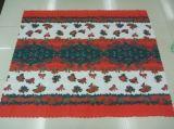 Nouveau design 100%polyester Tissu de la table de Noël (WLCH021)