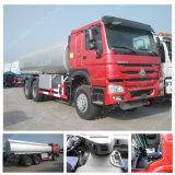 Carro del depósito de gasolina del carro de petrolero del transporte del petróleo de las ruedas 20000L de HOWO 6X4 10