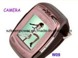 De 1,5 pulgadas de alta calidad Touch-Screen Dual SIM Watchphone