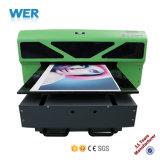 Ce e stampante UV approvata Wer-D4880UV del tavolo LED di formato A2 dello SGS