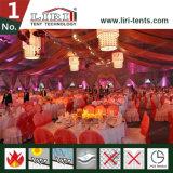 Barracas usadas do banquete de casamento para o evento