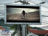 옥외 섬 사용 녹슬지 않는 광고 발광 다이오드 표시